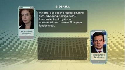 Celso de Mello envia à PGR pedido de análise sobre indícios de tráfico de influência por Carla Zambelli