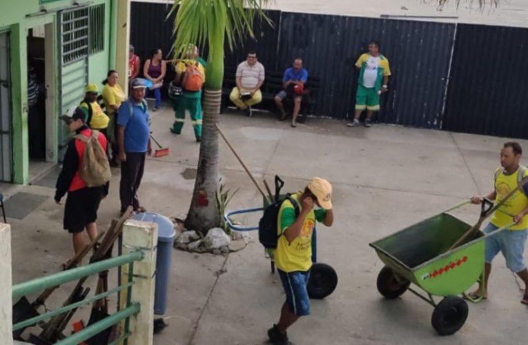 Trabalhadores da limpeza urbana voltam a parar coleta de lixo em Campina Grande